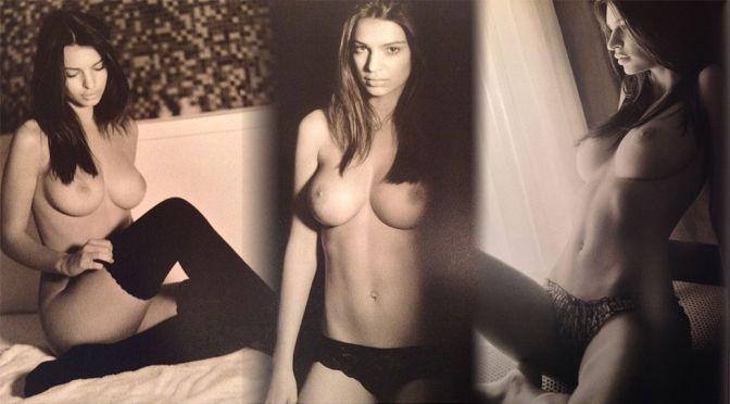 Emily Ratajkowski – Topless Photoshoot by John Urbano (NSFW)
