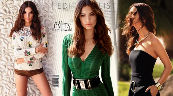 Emily Ratajkowski – Editorialist Magazine (Fall-Winter 2015)