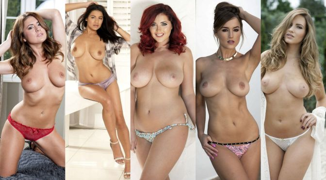 Various Models – Page 3 Topless Photoshoot (NSFW)