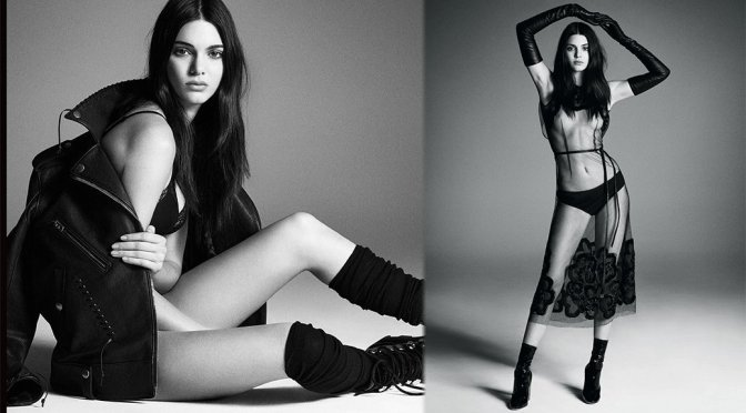 Kendall Jenner – Vogue Japan Magazine Topless Photoshoot (November 2015) (NSFW)