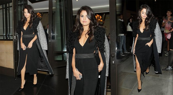 Selena Gomez – Candids in London