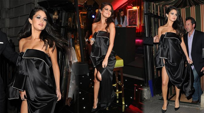 Selena Gomez Performs Live at Annabel in London