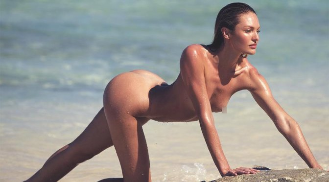 Candice Swanepoel – Naked Photoshoot by David Bellemere (Censored)