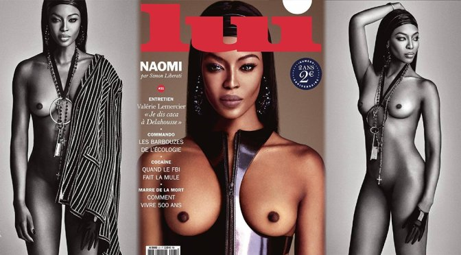 Naomi Campbell – Lui Magazine Naked Photoshoot(October 2015) (NSFW)