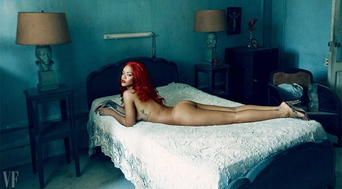 Rihanna – Vanity Fair Magazine Photoshoot (November 2015)