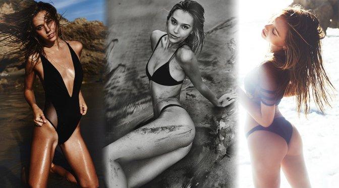 Alexis Ren – Swimsuit Photoshoot by Lucas Passmore
