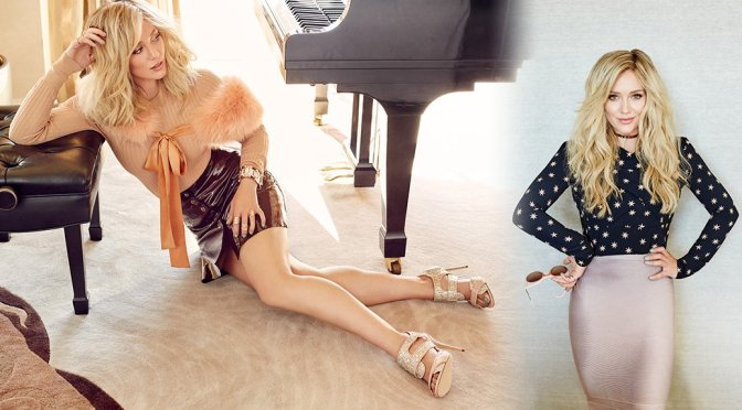 Hilary Duff – Glamour Mexico Magazine Photoshoot (November 2015)