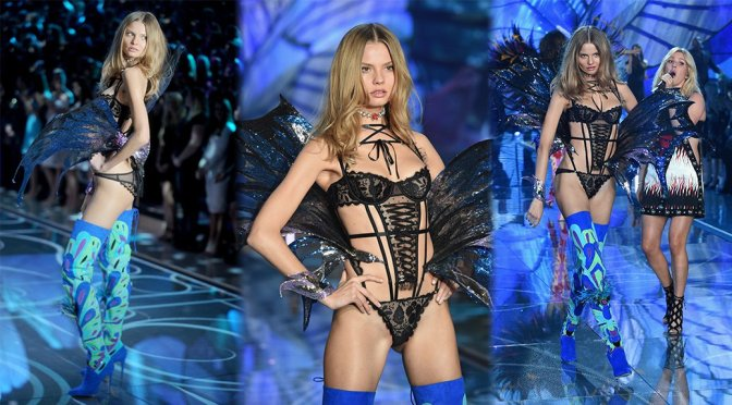 Magdalena Frackowiak – 2015 Victoria's Secret Fashion Show