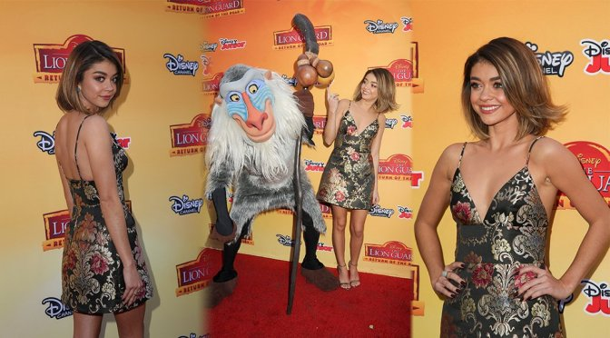 Sarah Hyland – The Lion Guard Return of the Roar Premiere in Burbank