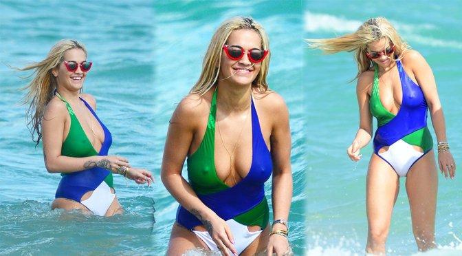 Rita Ora – Swimsuit Candids in Miami