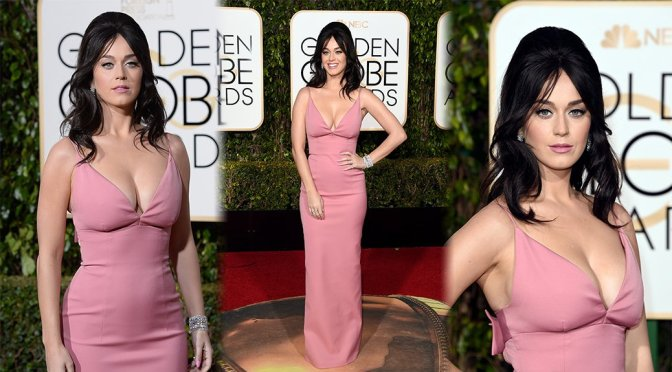 Katy Perry – 73rd Annual Golden Globe Awards in Beverly Hills