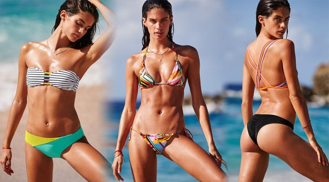 Sara Sampaio – Victoria's Secret Bikini Photoshoot
