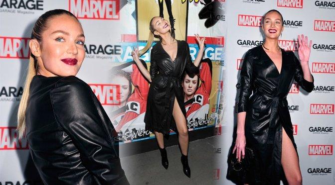 Candice Swanepoel – Marvel and Garage Magazine New York Fashion Week Event