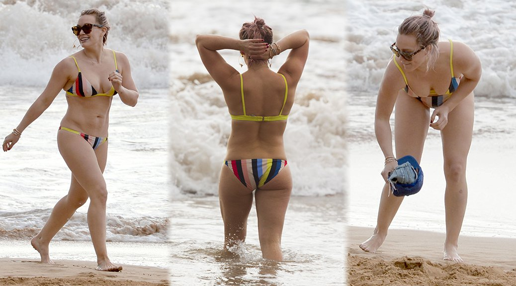 Hilary Duff - Bikini Candids in Hawaii
