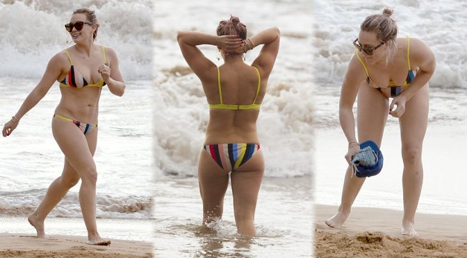 Hilary Duff – Bikini Candids in Hawaii
