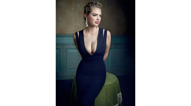 Kate Upton – Vanity Fair Oscar Party Portrait