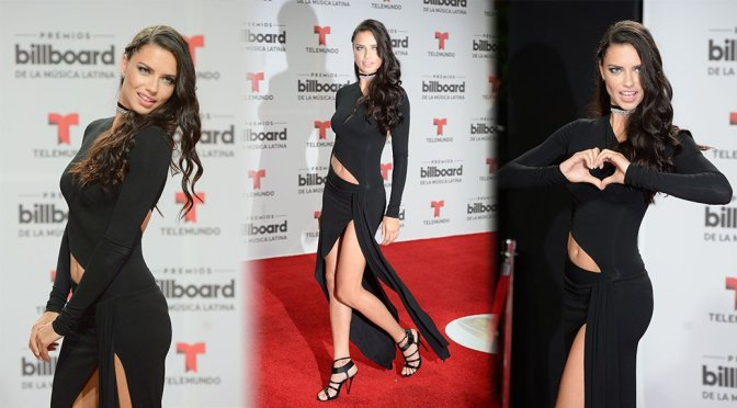 Adriana Lima – Billboard Latin Music Awards in Miami