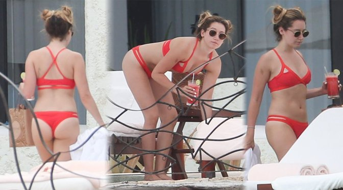 Ashley Tisdale – Bikini Candids in Cabo San Lucas
