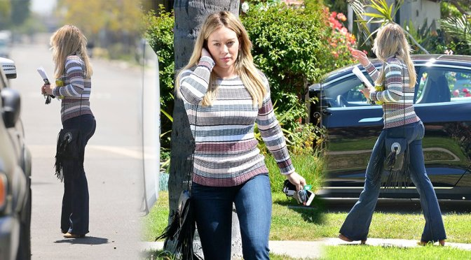Hilary Duff – Candids in Beverly Hills