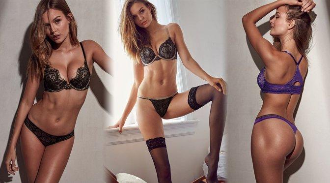 Josephine Skriver – Victoria's Secret Lingerie Photoshoot