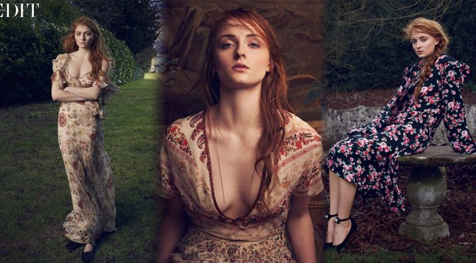 Sophie Turner – The Edit Magazine Photoshoot (April 2016)