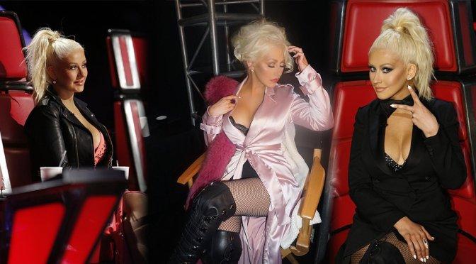"""Christina Aguilera – """"The Voice"""" Season Ten Promos"""