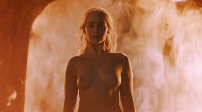 "Emilia Clarke – ""Game of Thrones"" Nude Scene"