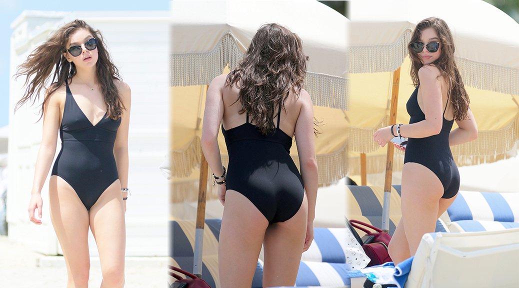Hailee Steinfeld - Swimsuit Candids in Miami