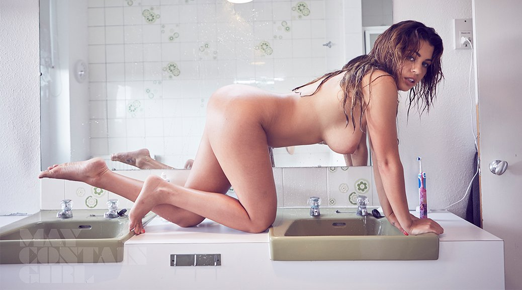 """Holly Peers - """"May Contain Girl"""" Photoshoot"""