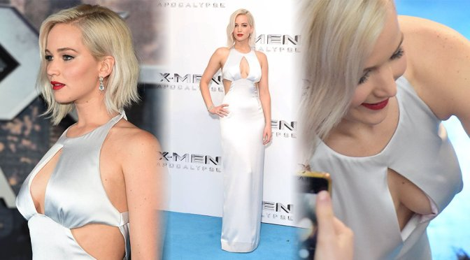 "Jennifer Lawrence – ""X-Men: Apocalypse"" Premiere in London"