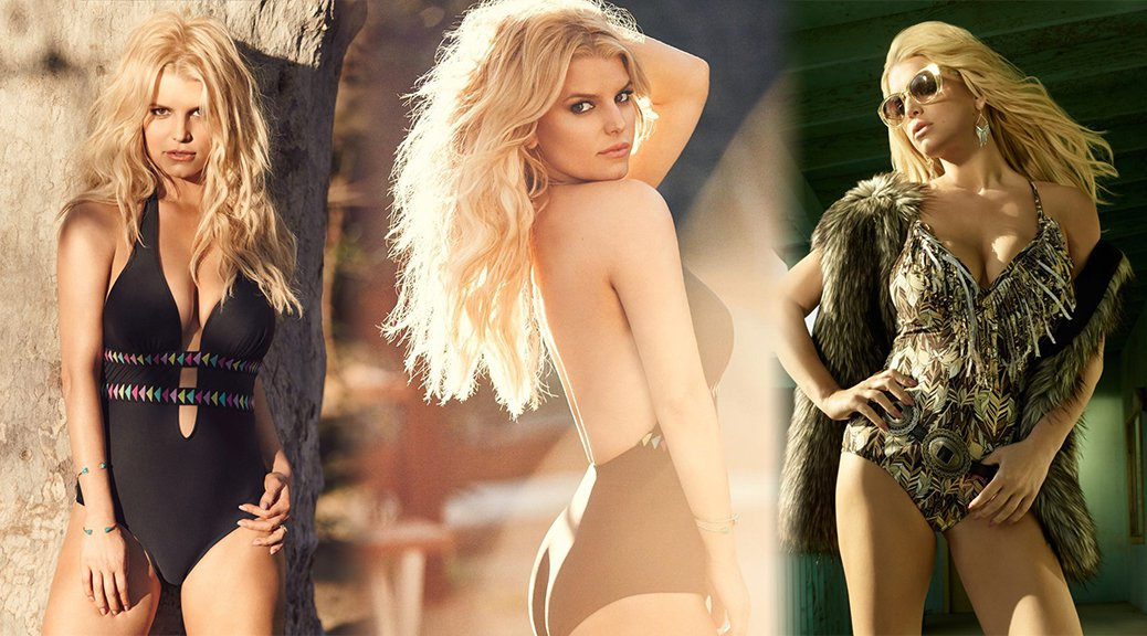 Jessica Simpson - Swimsuit Photoshoot