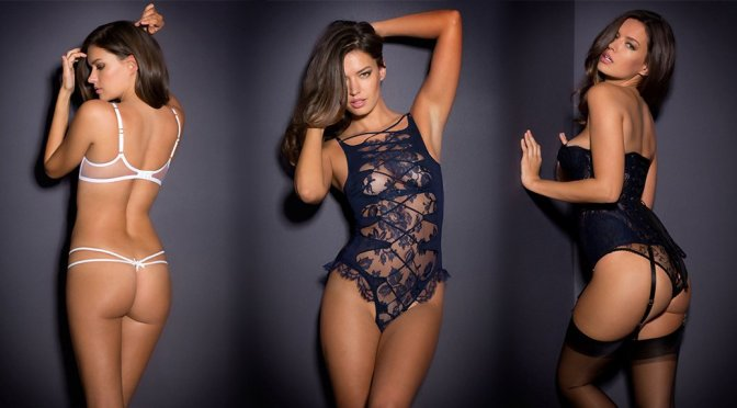 Michea Crawford – Agent Provocateur Lingerie Photoshoot