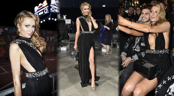 Paris Hilton – Philip Plein Fashion Show in Milan