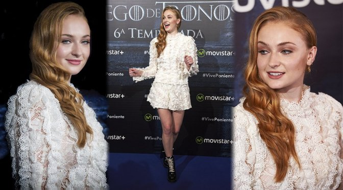 """Sophie Turner – """"Game of Thrones"""" Event in Madrid"""