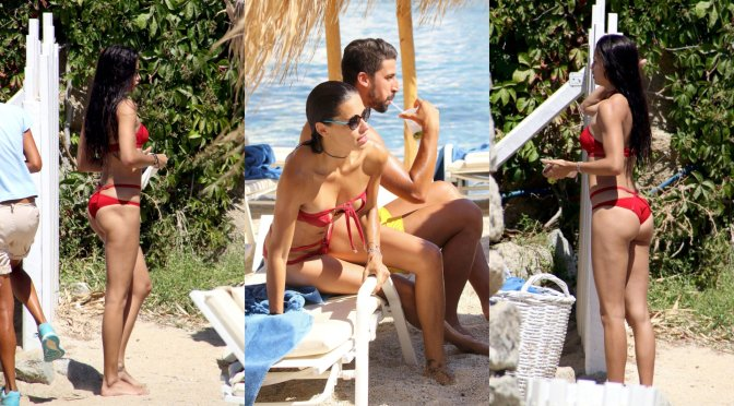 Adriana Lima – Bikini Candids in Mykonos