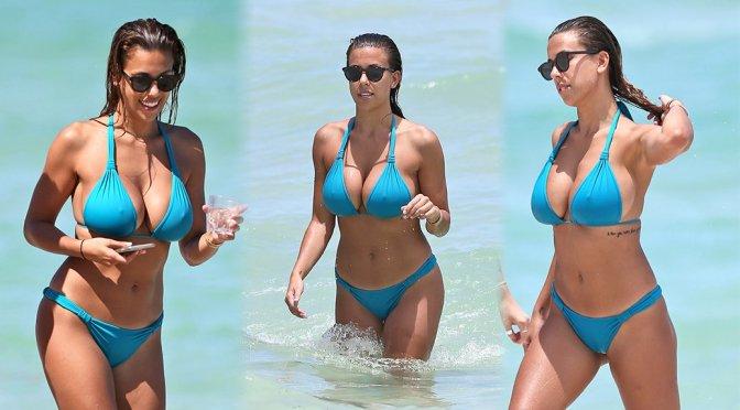 Devin Brugman – Bikini Candids in Miami