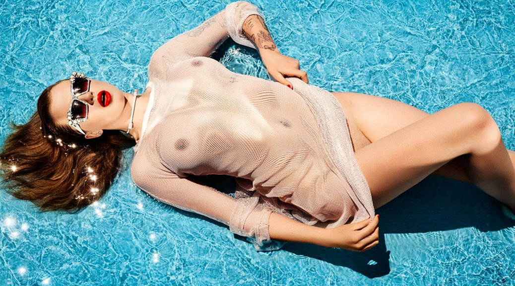 Ireland Baldwin - Treats Magazine Topless Photoshoot