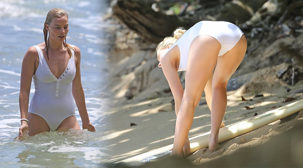 Margot Robbie - Swimsuit Candids in Hawaii