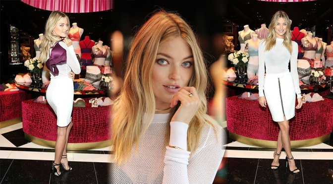 "Martha Hunt – ""Easy"" Launch in Washington"