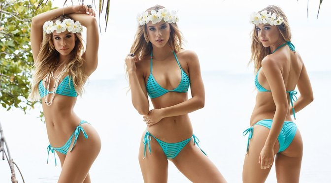Alexis Ren – Beach Bunny Bikini Photoshoot
