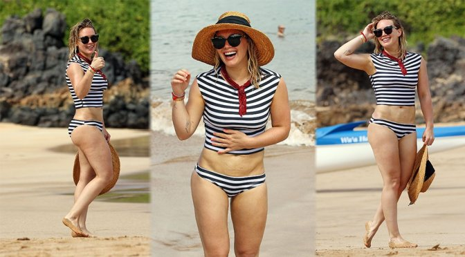Hilary Duff – Candids in Malibu
