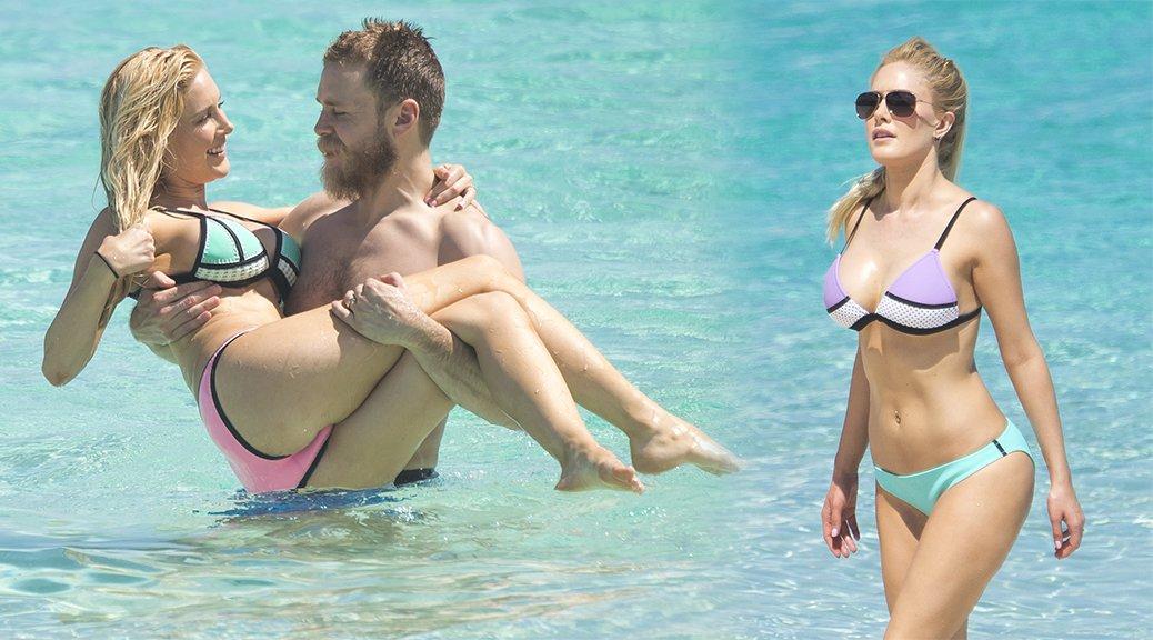 Heidi Montag - Bikini Candids in Bahamas