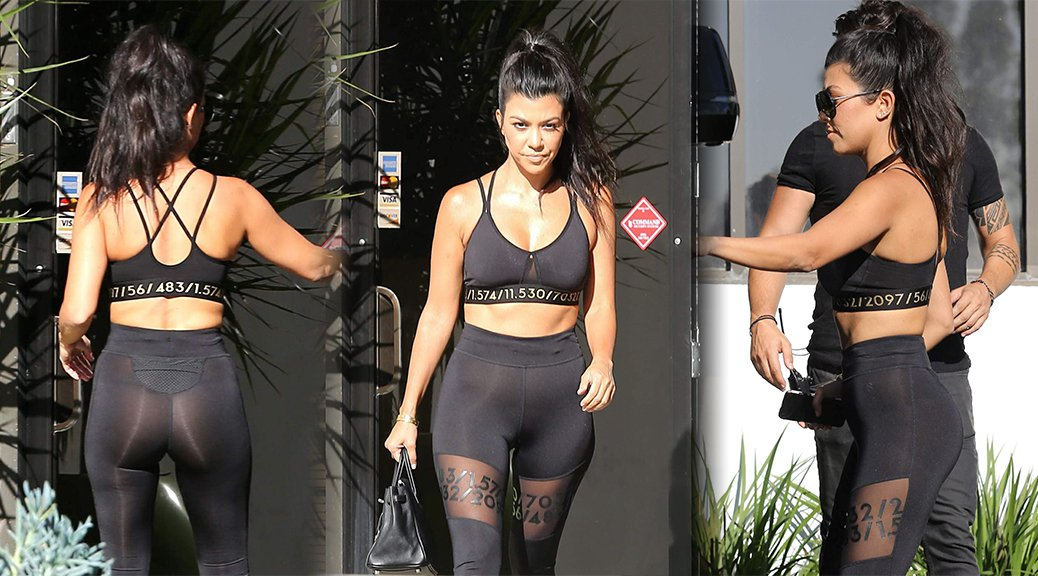 Kourtney Kardashian - Candids in Calabasas