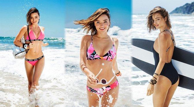 Miranda Kerr – BONDS Swimsuit Campaign