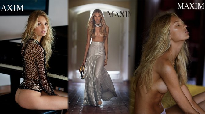 Romee Strijd – Maxim Magazine Photoshoot (October 2016)