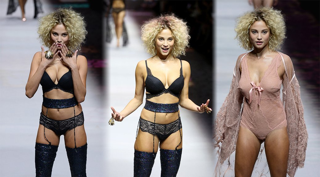"Rose Bertram - ""Etam"" Fashion Show in Paris"