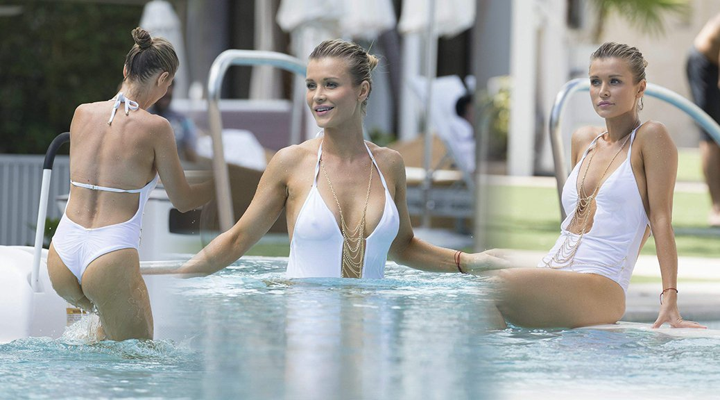 Joanna Krupa - Swimsuit Candids in Miami
