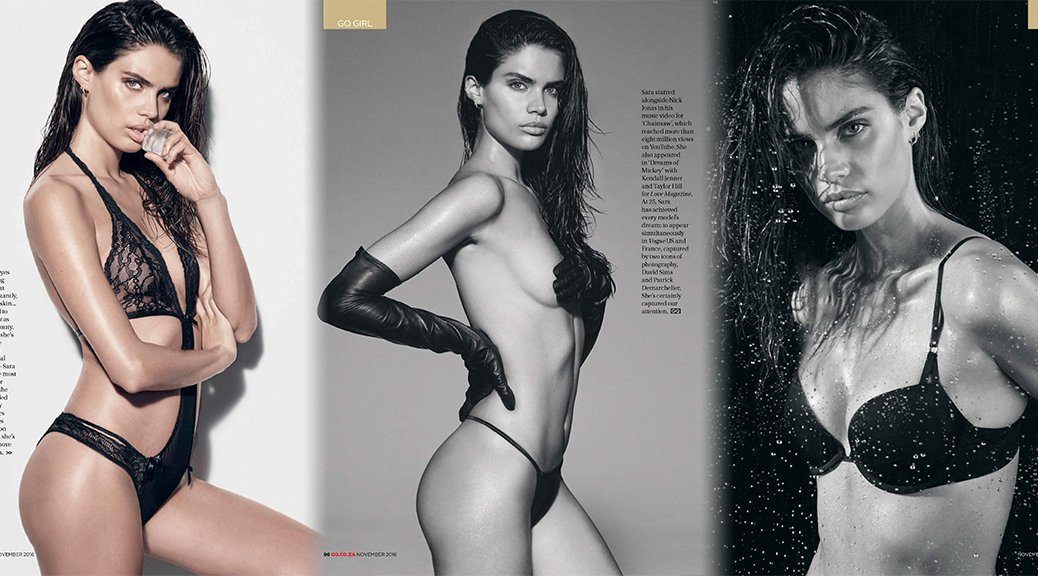 Sara Sampaio - GQ Magazine (November 2016)