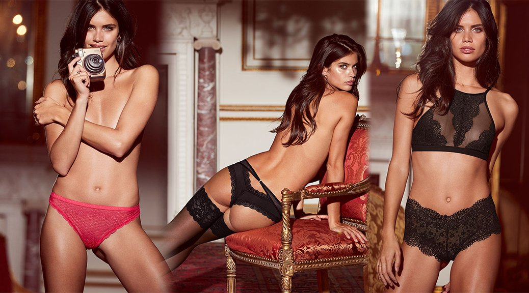 Sara Sampaio - Victoria's Secret Lingerie Photoshoot