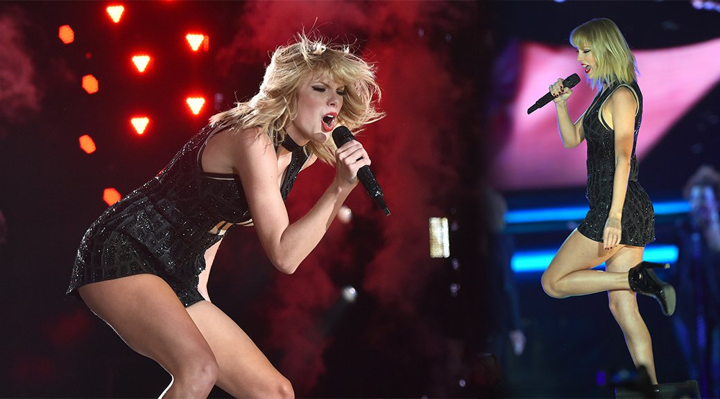 Taylor Swift Performs Live at US Grand Prix in Austin